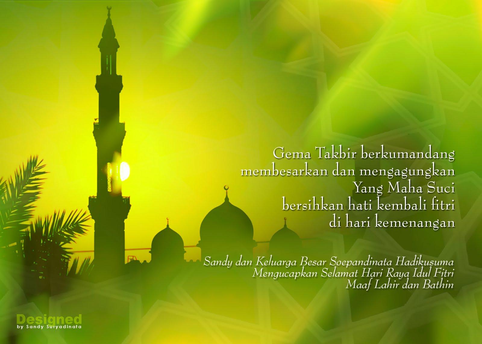 Selamat Hari Raya Idul Fitri 1431 H Balkam